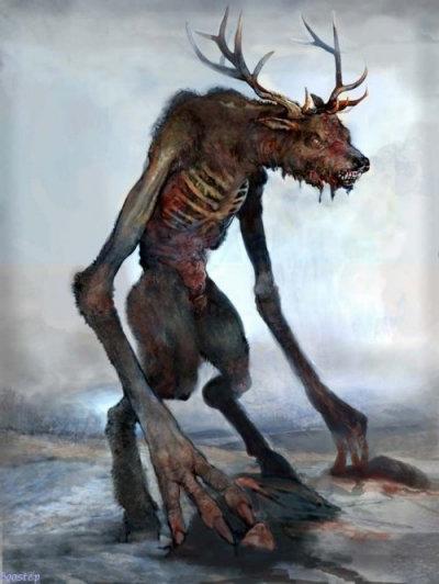 Mythologie Am 233 Rindienne Wendigo