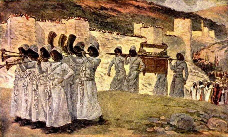 Une histoire abrégée de l`Ancien Testament – (avec images et cartes géographiques) Jericho_tissot
