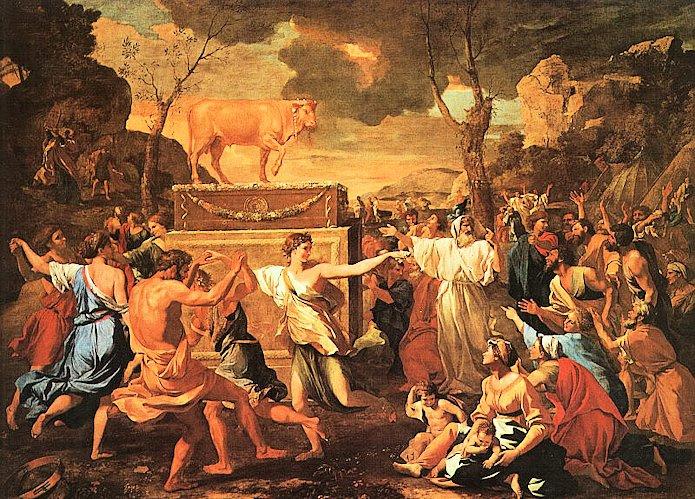 Légendes bibliques: le veau d'or
