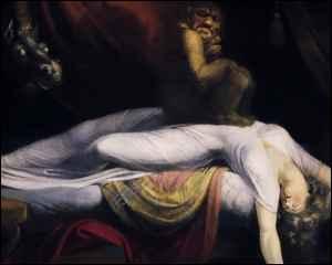 La création - la souffrance - la mort - le péché originel - Page 2 Cauchemar_fuseli