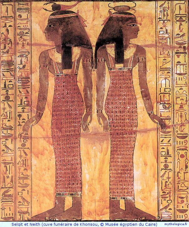 mythologie  u00e9gyptienne  neith
