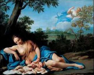 Naissance d'Apollon et de Diane