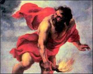 Prométhée dérobant le feu 1637 , Jan COSSIERS © Musée du Prado