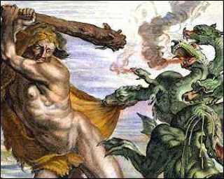 Héraclès et l'Hydre