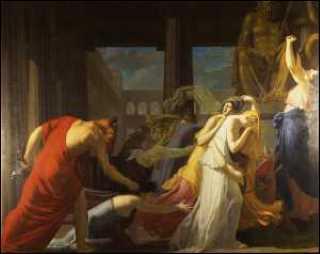 Athéniennes livrées au Minotaure