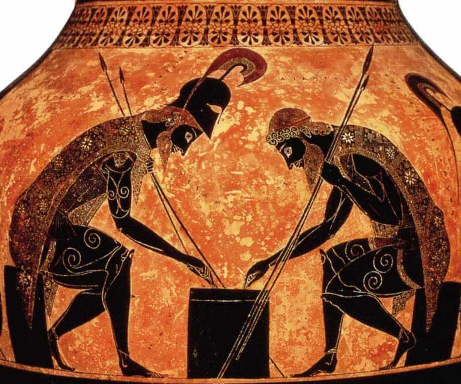8910e53349e7 Mythologie grecque  le grand Ajax