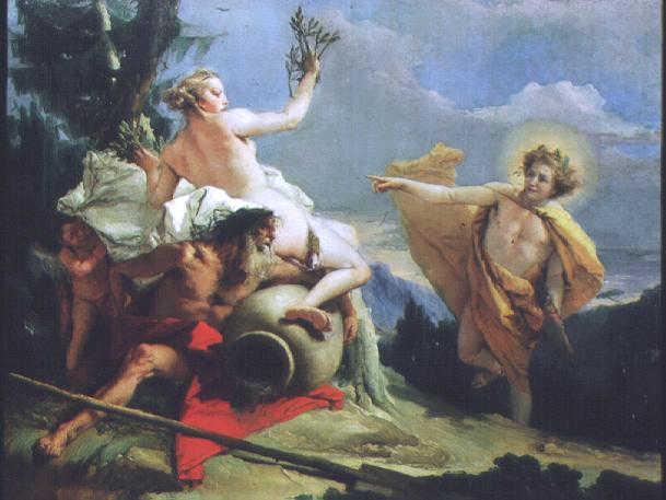 Daphné et Apollon d'après TIEPOLO © National Gallery, Washington