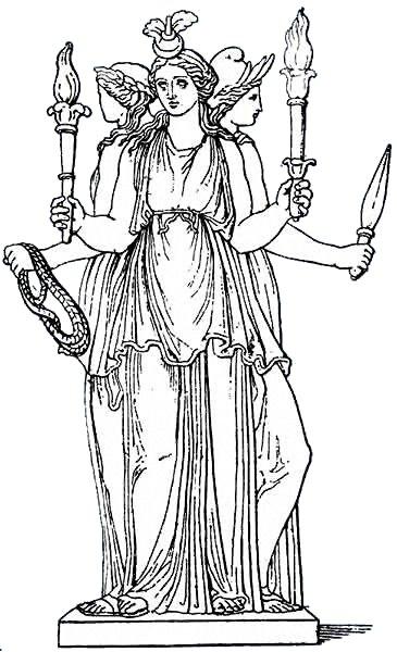 Artemis Greek Goddess Symbol Mythologie grecque: H&...