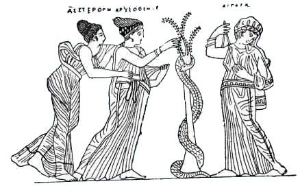 Mythologie grecque h racl s au jardin des hesp rides - Les pommes d or du jardin des hesperides ...