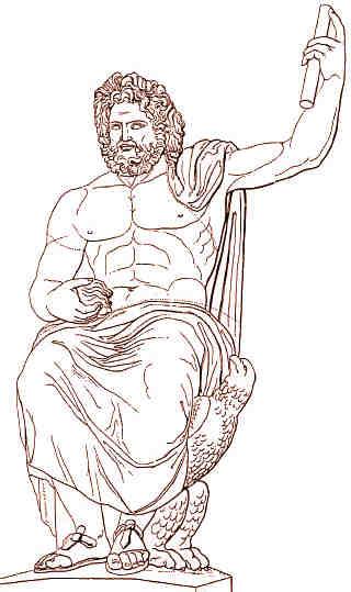 Mythologie Grecque Zeus 1