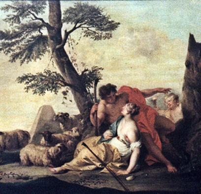 Pâris et Œnone par Jacob de WIT