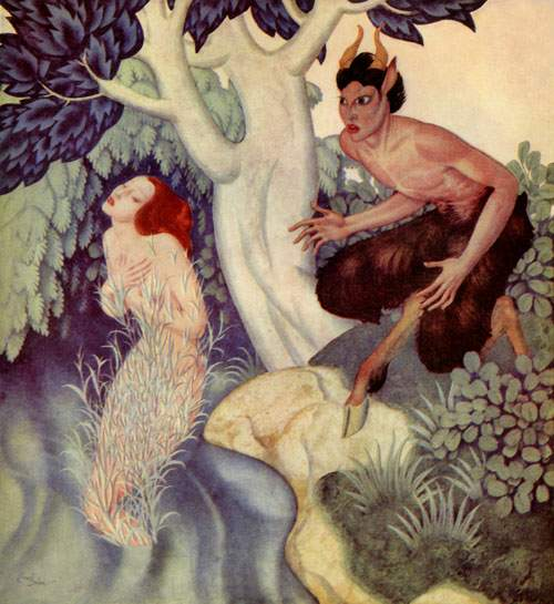 Mythologie Grecque Syrinx