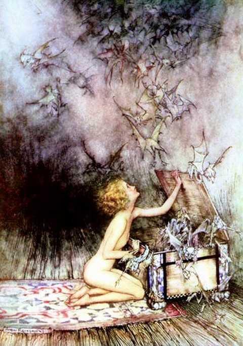 Mythologie grecque epim th e et pandore for Mito vaso di pandora