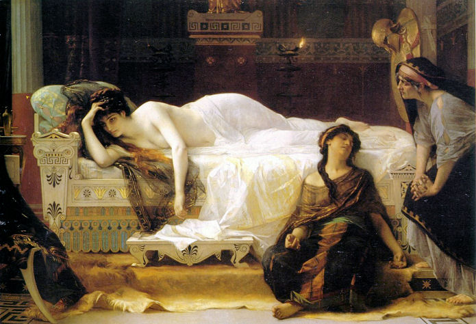 la rencontre d'alexandre avec la reine des amazones