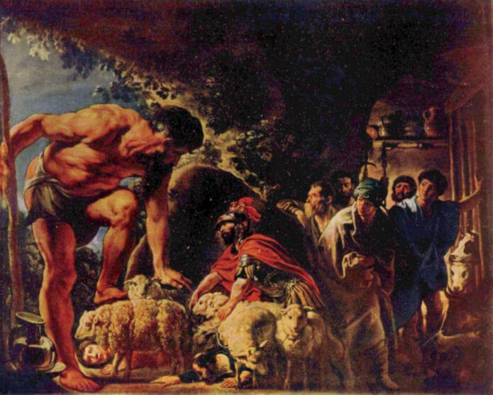 Ulysse et Polyphème