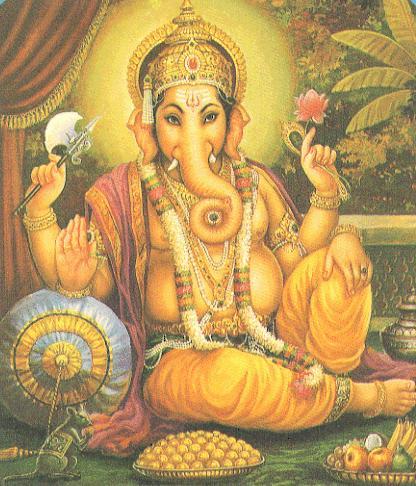 Ganesh, Dieu Hindou à tête d'éléphant