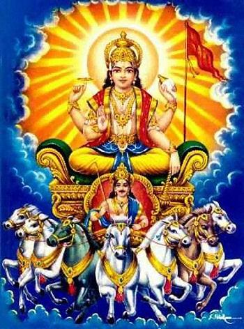 Mythologie hindoue : Surya