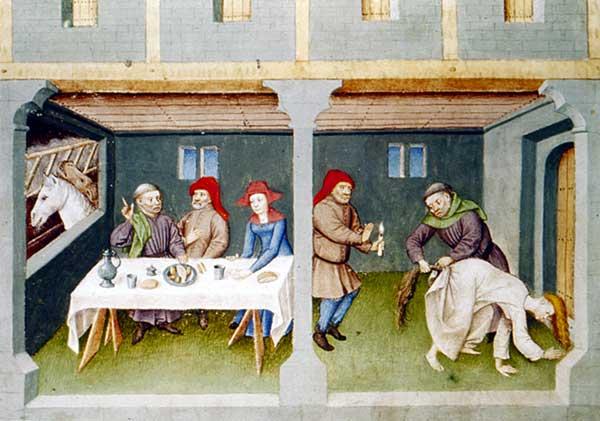 orgie médiévale