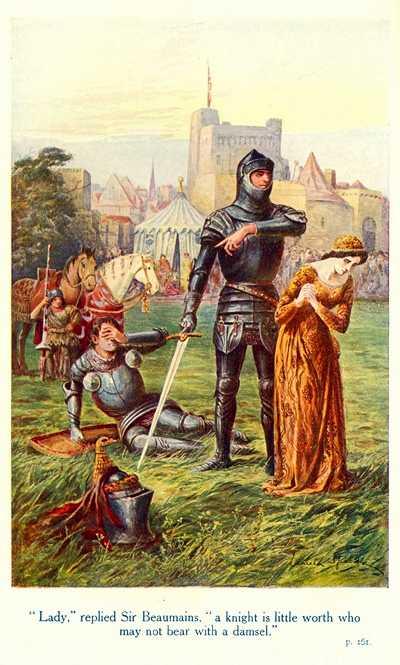 L gendes m di vales gareth - Keu chevalier de la table ronde ...