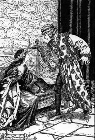 Les chevaliers de la table ronde le royaume f erique de - Le cycle arthurien et les chevaliers de la table ronde ...