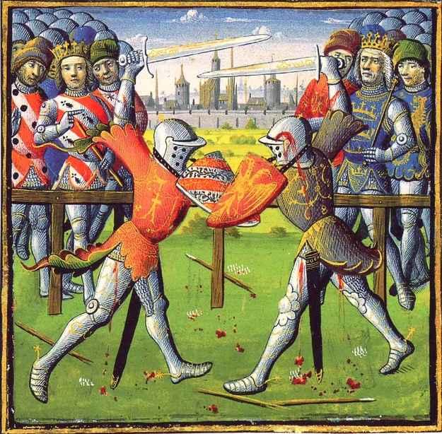 L gendes m di vales les chevaliers - Keu chevalier de la table ronde ...