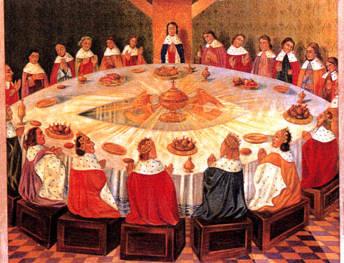 L gendes m di vales objets l gendaires - Le cycle arthurien et les chevaliers de la table ronde ...