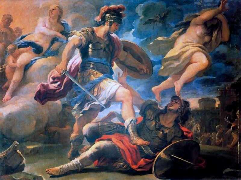 Mythologie Romaine énée