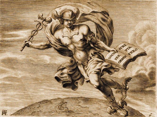 Mythologie romaine   Mercure 6e44a705bd7