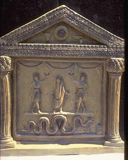 mythologie romaine les p nates. Black Bedroom Furniture Sets. Home Design Ideas