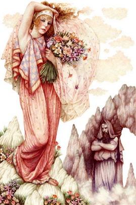 Proserpine d'après Ann Yvonne Gilbert