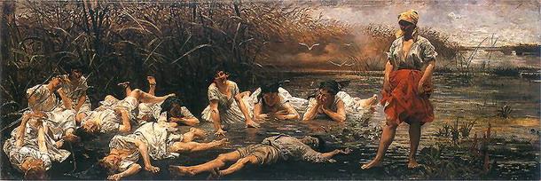 Dans la mythologie russe ou son